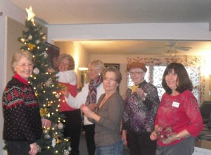 Decorating Team '13 - Center for Spiritual Living Anacortes