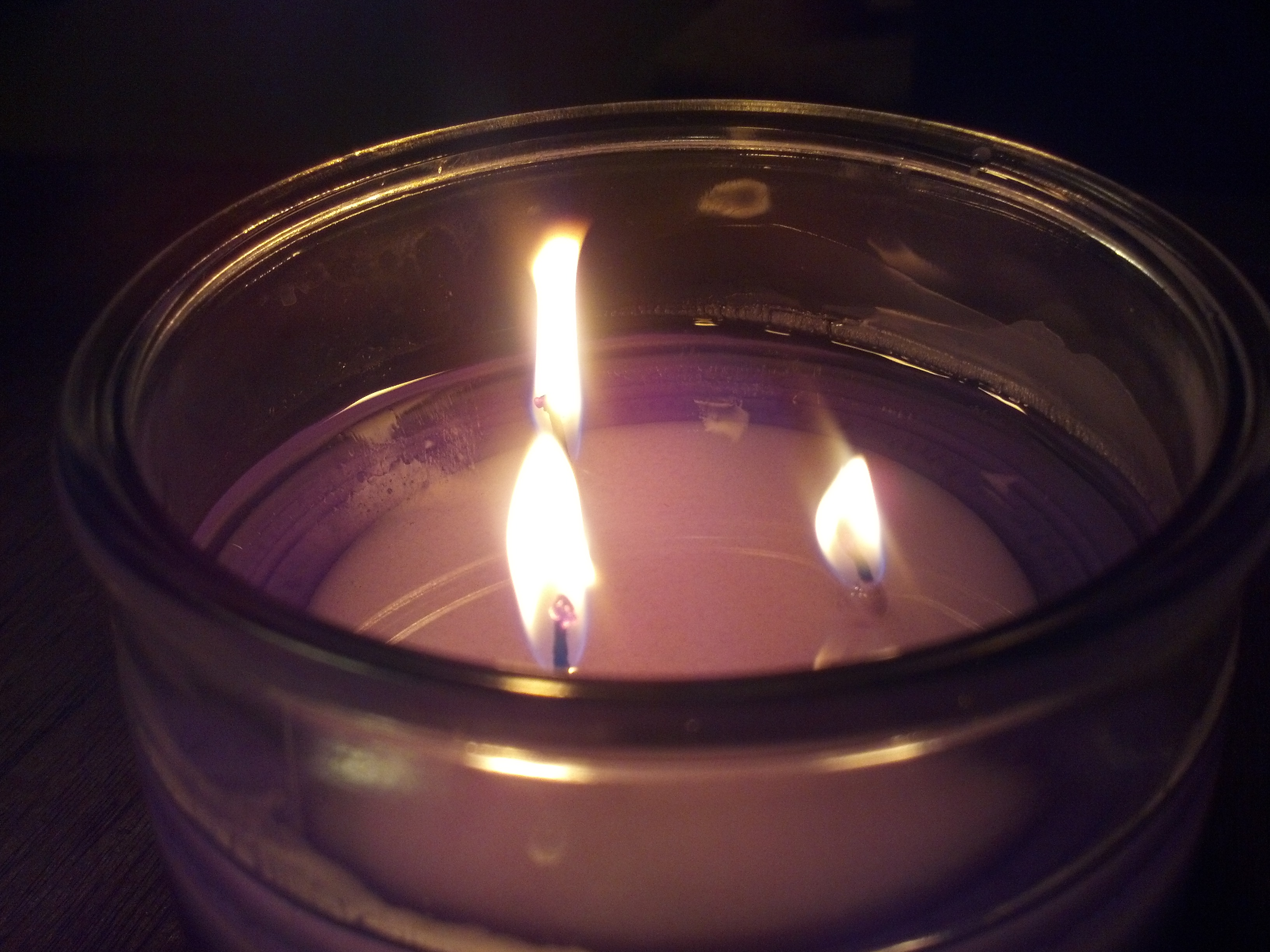 Lavender Candle - Center for Spiritual Living Anacortes